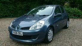 RENAULT CLIO 1.5 DCI*TURBO DIESEL*12 MONTHS MOT-5 Door/AIR CON-1 LADY OWNER-FULL S/History/STUNNING!