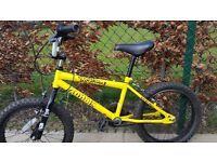Zombie Boy's Skullz BMX Bike age 5-8 great condition