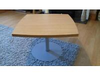Oak style coffee table, free to collect