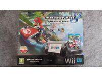 Boxed Nintendo Wii U console & 3 games