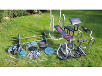 Body Building Set + accessories *BARGAIN DEAL*