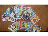 Lego cards - wanted 67, lots unrequired!!