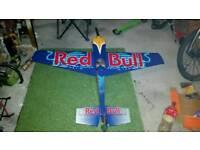 RC PLANE RED BULL EDGE 540 BALSA ARF