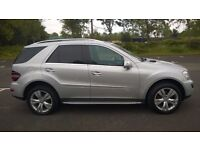 Excellent condition mercedes 320 ml cdi 7G-TRONIC