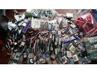 Job lot over 2000 pcs of make up Loreal , Maybelline , Collection , make up , black mask