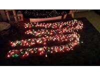 2 sets outdoor net lights