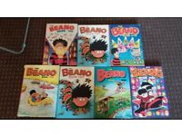 Classic The Beano Books x 5 - Good Condition - Open to reasonable offers