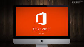 MICROSOFT OFFICE 2016 for MAC OSX...