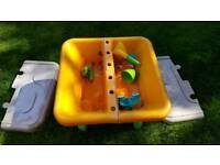 Sand /water pit with lid