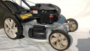 22 Inch  6.5 Hp Murray Gas Powered Push Lawn Walk Behind  lawnmowers and Bag