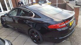 jaguar xf s premium luxry 2010 only 65000 miles excellent looking car . sublime drive