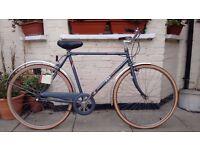 Vintage Bsa Metro 3 speed Town Bike
