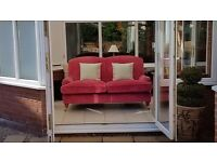 Laura Ashley Style 2 seater sofa