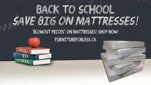 Get A Jump On Back To School! Savings Start Now On Mattresses!