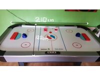 Air hockey table 210cm 7ft and 120cm 4ft
