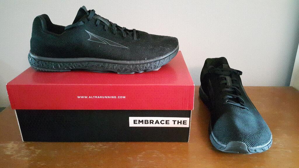 Altra Escalante 1.5 Black 11 UK Zero Drop Running Shoes. Hackney db6ad6ee9
