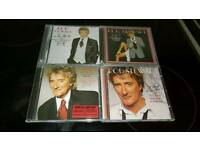 ROD STEWART..THE GREAT AMERICAN SONGBOOK 4 CDS.VOLUMES 1.2.3.4.ALL NEW UNPLAYED.