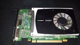 NVIDIA QUADRO 2000 1GB GDDR5 2560x1600 DirectX 11 CUDA HDMI PCI-E, ONLY LONDON