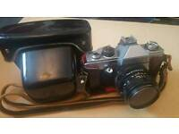 Practika Super TL2 SLR camera and 1.8/50 lense
