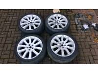 GENUINE LAND ROVER RANGE ROVER SUPERCHARGER 20 INCH ALLOY WHEELS 5X120 VOGUE L322 VW T5 T6 STORMER