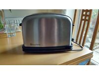 Russell Hobbs toaster brushed steel