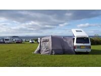 Drive away awning perfect for small campers inc VW and Mazda Bongo