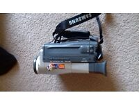 Immaculate Samsung video camcorder model v pl500 p a l