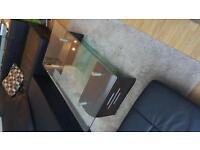 Glass coffee table (Modern)
