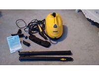 Kärcher SC1.020 Multi-Purpose Steam Cleaner and accessories