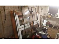 Oak pvc patio door (new)