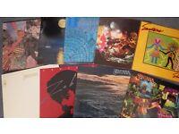 Nine Santana Vinyl Records