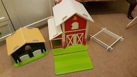 ELC wooden farm yard
