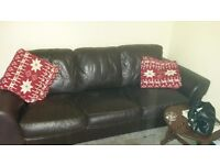 3 piece suit sofa and 1 chair