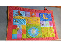 Large Taf Toys play mat - large enough for twins
