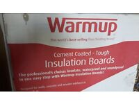 Warmup Insulation Board - specifically designed for underfloor heating but many uses - 5 available