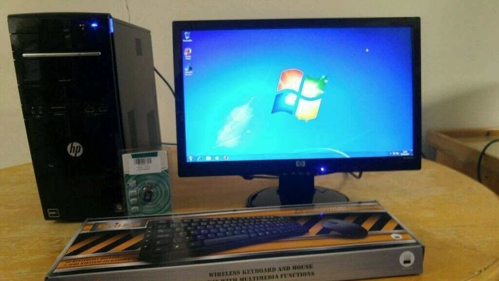 HP G5000 Home & Business PC Desktop Computer & Hp Pavillion 20