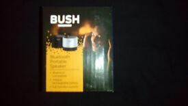 Bluetooth portable speaker bush.