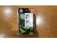 HP 301 Two Pack Cartridges