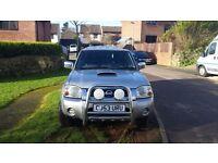 Nissan Navara outlaw reg 2004