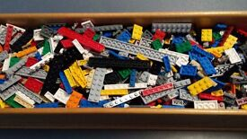 LEGO Job Lot. Small Flats/Plates. Assorted Sizes & Colours. Spares/Parts.