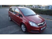 Vauxhall Zafira 1.6 i 16v CLUB 5dr, 7 SEATER