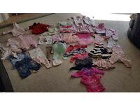 3 to 6 months girls huge bundle includes everything you need!