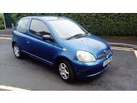 Toyota Yaris 1.0 2003 low mileage, 35000 miles!