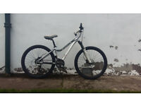 Giant Terrago ladies / giels hard tail mountain bike