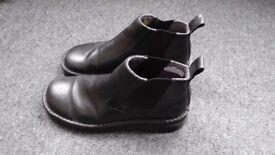 Doc Martens boots, low top no laces. Black Mens size UK 12.
