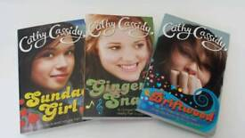 Set of 3 Cathy Cassidy books