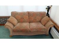 3 Seater chenille Downtown Oldrids sofa