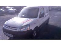 CITREON BERLINGO 1.9 DIESEL BREAKING FOR SPARES ALL PARTS AVAILABLE