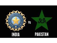 4 GOLD India V Pakistan Cricket Tickets ICC Champions Trophy