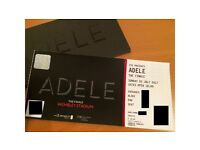 Adele ticket for Sunday 2nd July. Seated